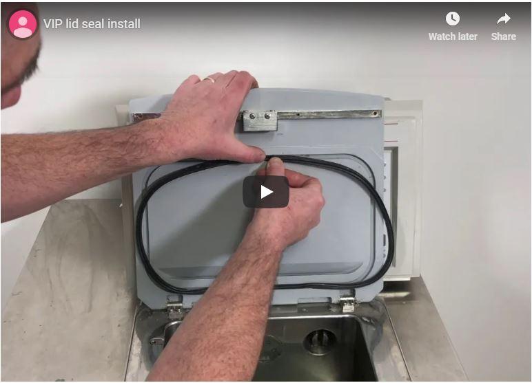 VIP Lid Seal Install